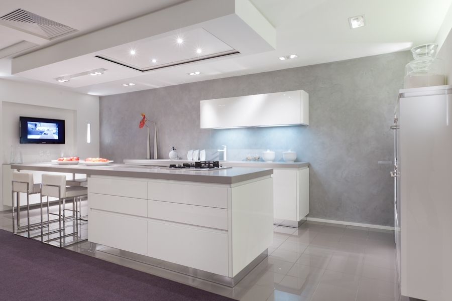 Hoogglans Keuken Wit : wit hoogglans [45315]