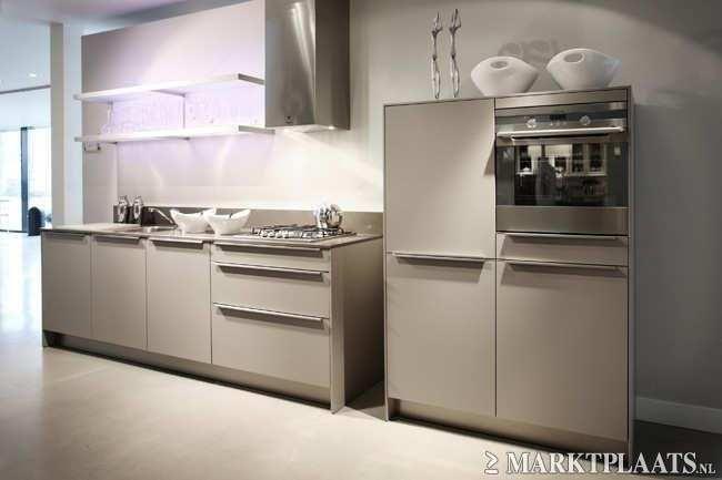 Keuken Plint Rvs : Siematic showroomkeuken aanbiedingen SieMatic keuken [35512