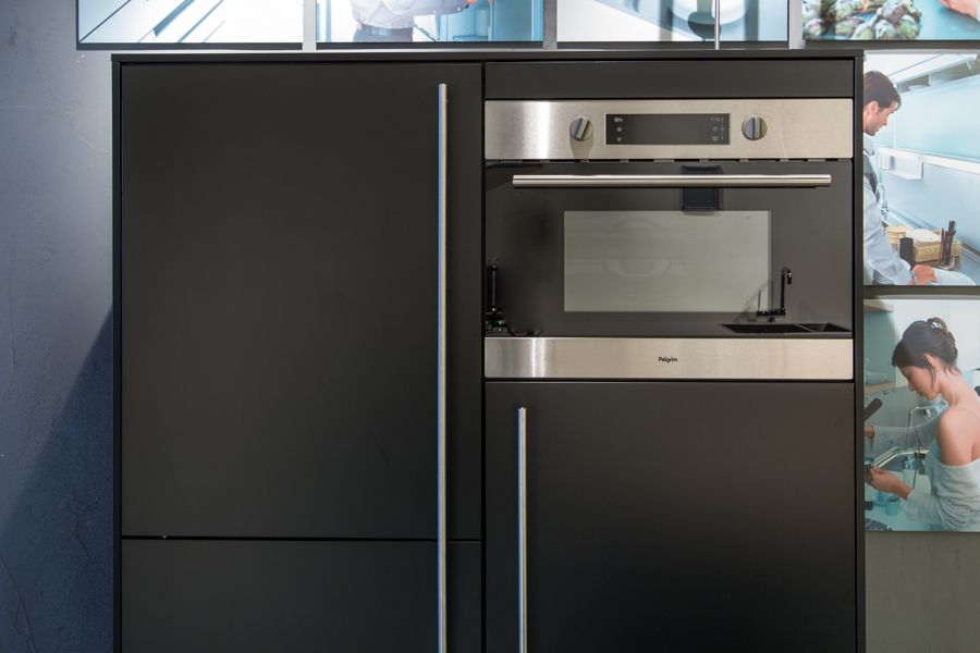 Keuken Zwart Mat : aanbiedingen SieMatic SC 66 K en SC 10 Zwart mat [49744